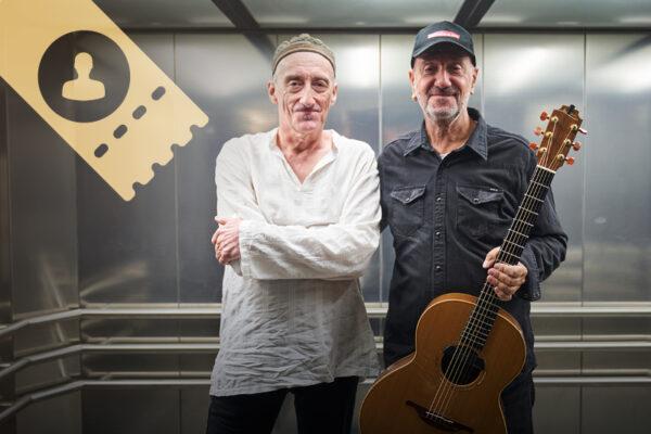 Miroslav Tadic és Vlatko Stefanovski gitárművész World Music koncert – egyéni - individual