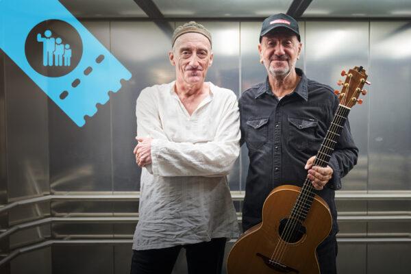 Guitarist Miroslav Tadic and guitarist Vlatko Stefanovski World Music concert - family